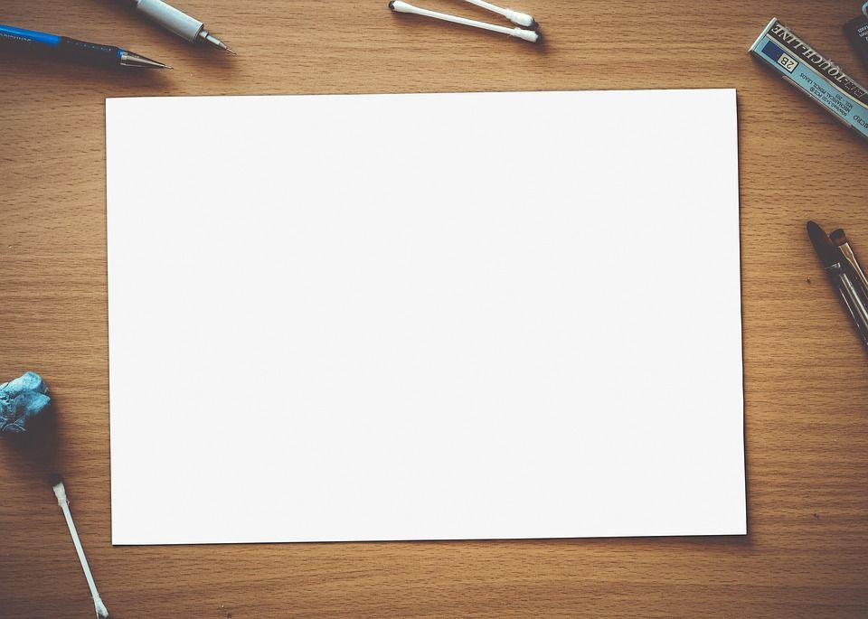 Free Image On Pixabay Paper Blank White Empty Page Kertas