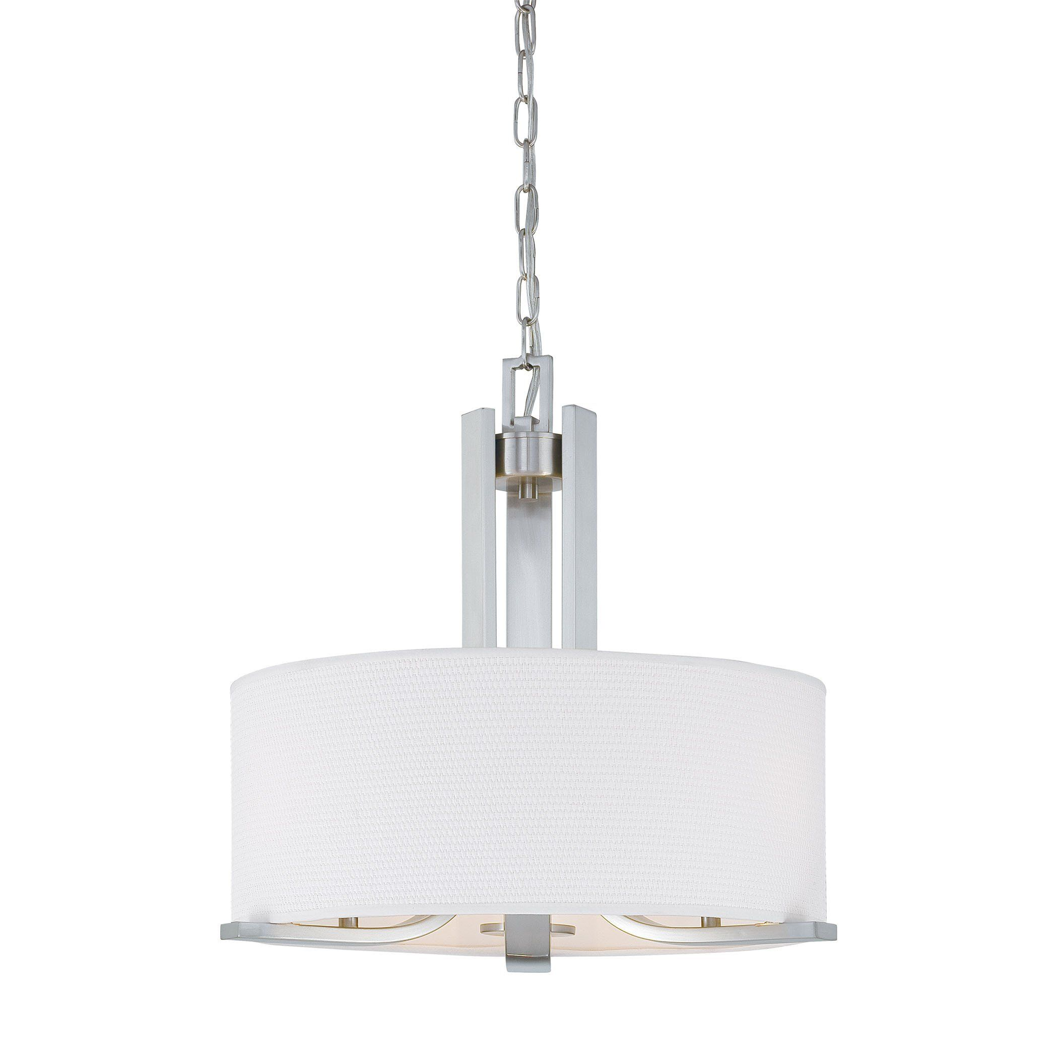 Pendenza chandelier brushed nickel x products pinterest