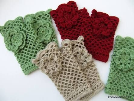Image Result For Crochet Arm Warmers Pattern Free Crochet