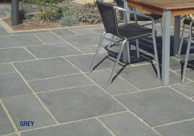 This Concrete Paving Slab Is Ideal For Patios And Is A Lovely Light Grey  Tone.