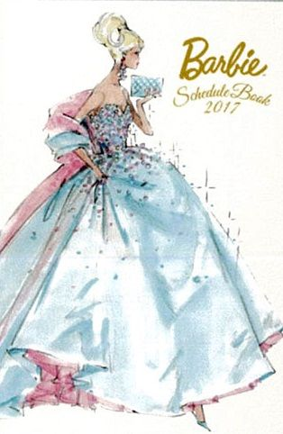 2017 Barbie Schedule Book sketch by Robert Best (With images