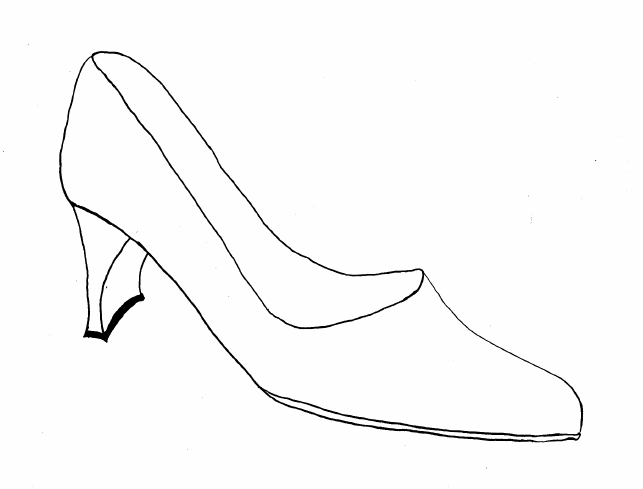 drawing of shoes - Google Search