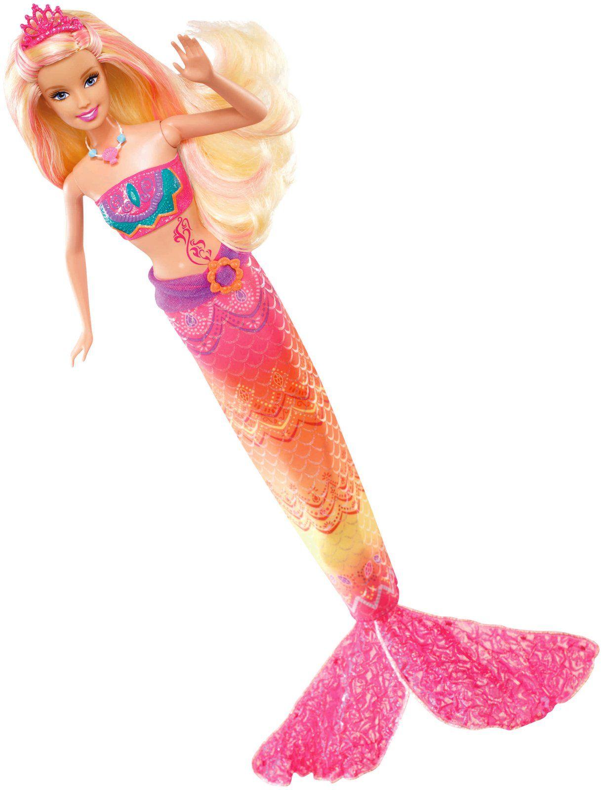 Barbie in a mermaid tale 2 merliah transforming doll - Barbi sirene 2 film ...