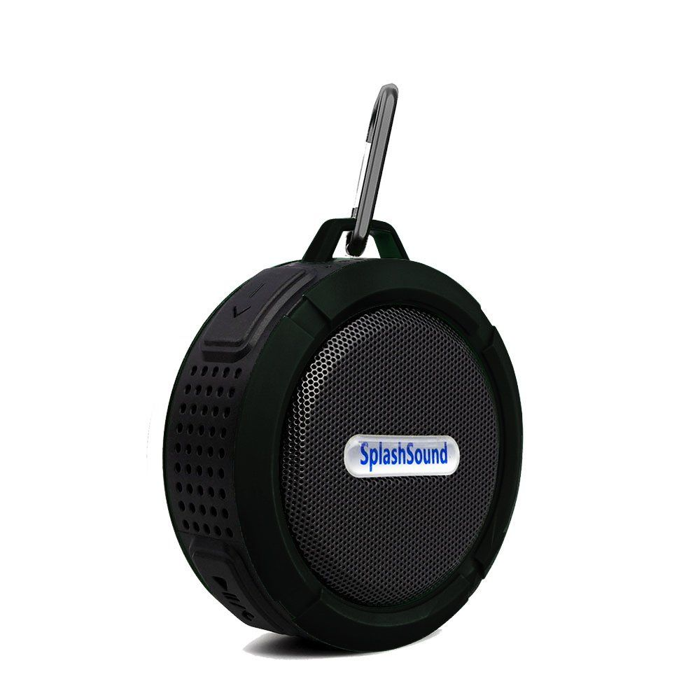 5c5e983038 Waterproof Bluetooth Speaker with Micro SD Card Slot – Compact ...