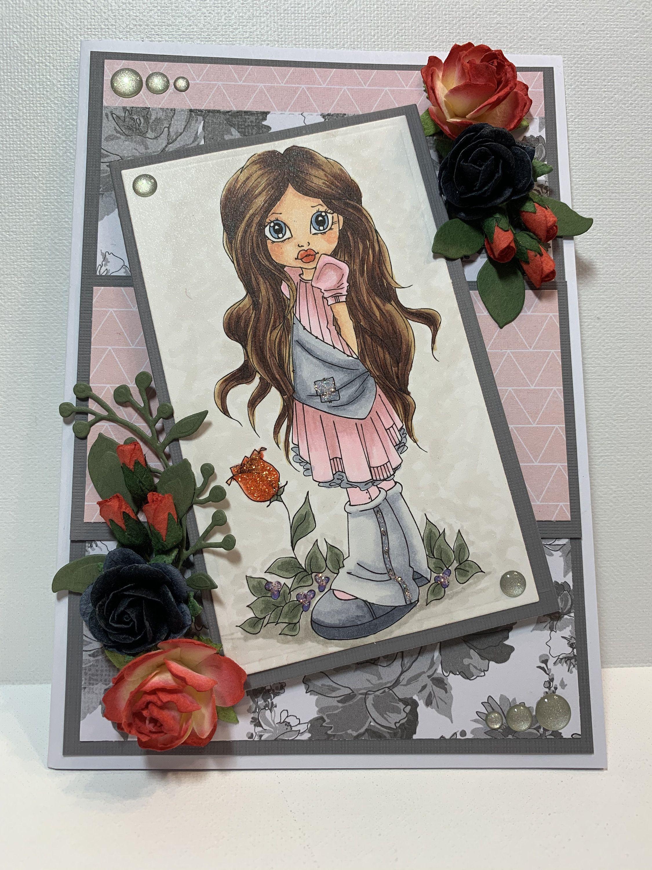 Birthday card for her 3d birthday card fancy handmade