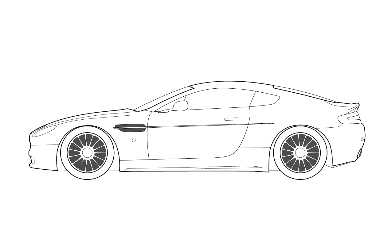 Car Design Coloring Pages : Car template printable race racing auto formula