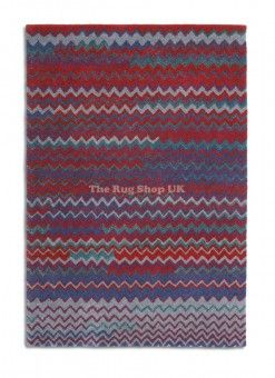Best Ing Guide And Review On Zig Zag 02 Red Grey Striped Rug