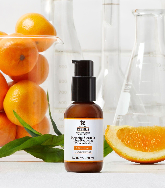 Powerful Strength Line Reducing Concentrate Vitamin C Serum Kiehl S Skin Cream Skin Care Skin Firming