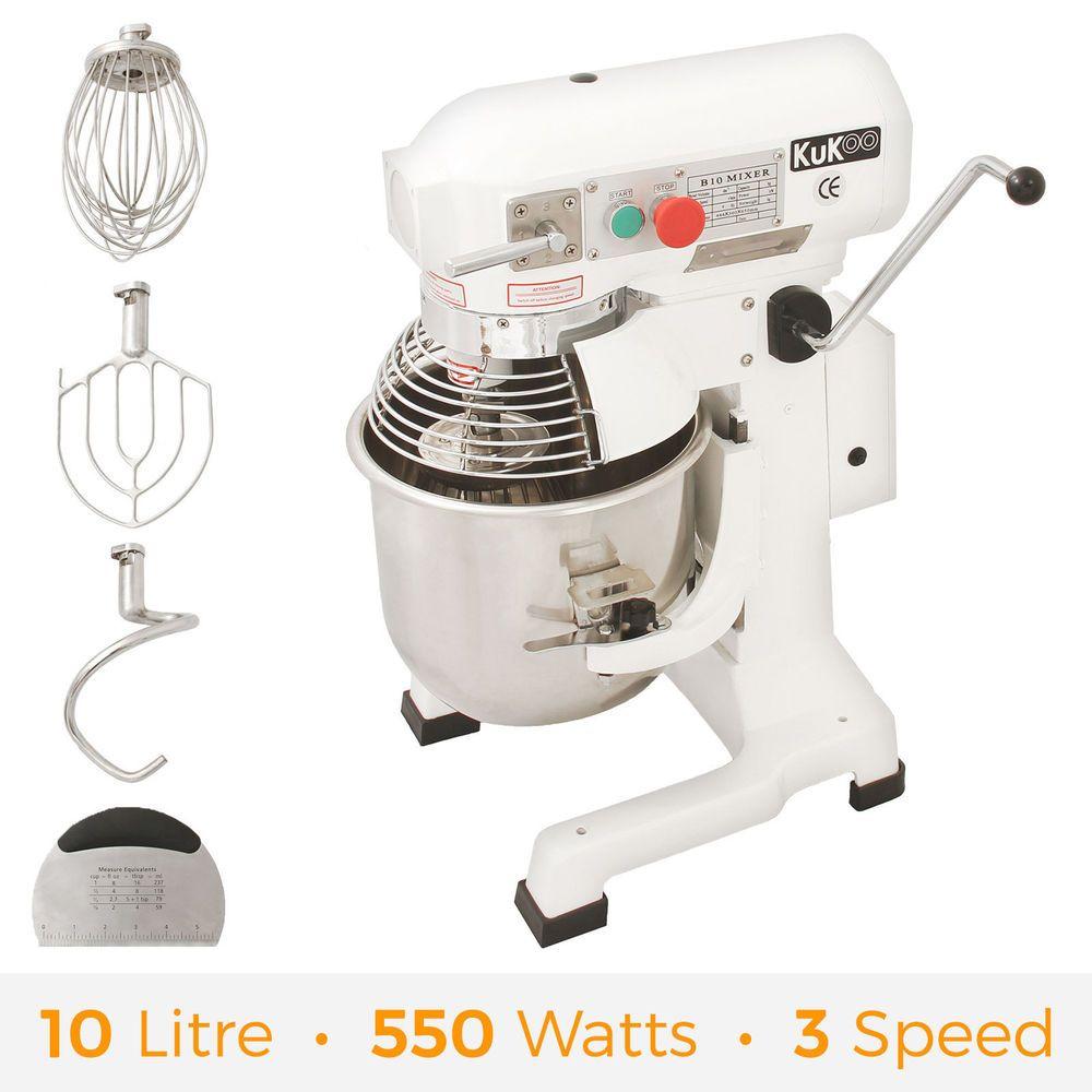 Commercial food mixer 10l stand dough mixer cake