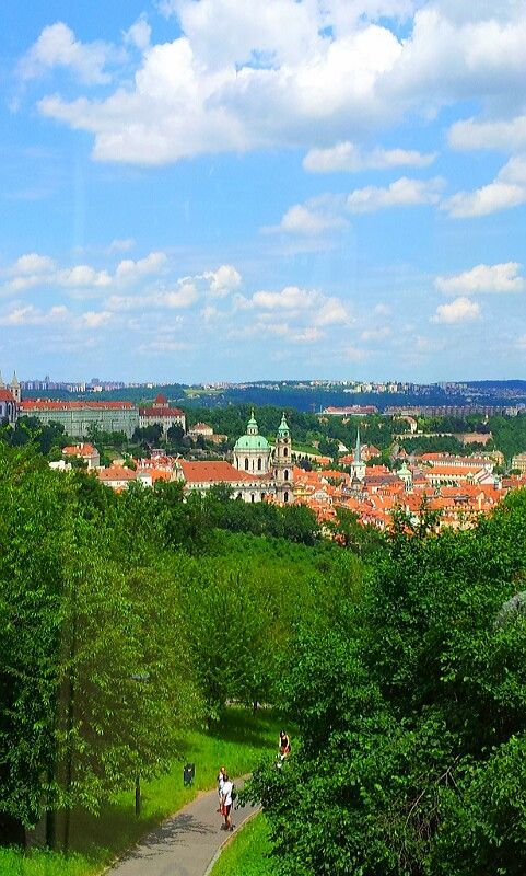 Beautiful View Of Prague.