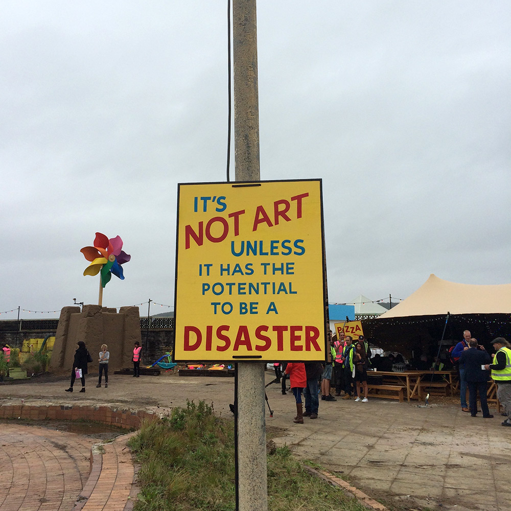 Welcome to Dismaland: A First Look at Banksy's New Art Exhibition Housed Inside a Dystopian Theme Park