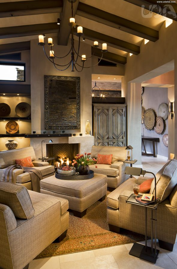 Modern Tuscan Living Room : modern, tuscan, living, Contemporary, Living, Room,, Dramatic, Family, Showstopper, Inspiration,, Modern, Tuscan, Rooms,, Perfect, Decor,, Mediterranean, Rooms