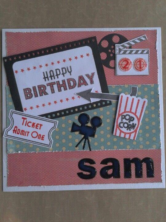 Movie Inspired Birthday Card Male Cards Diy Cards Birthday