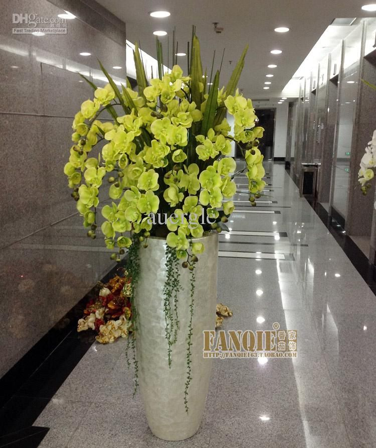 Large Floor Vase Set Modern Flower Receptacle Fashion Decoration Pu Artificial 1575 88 Dhgate
