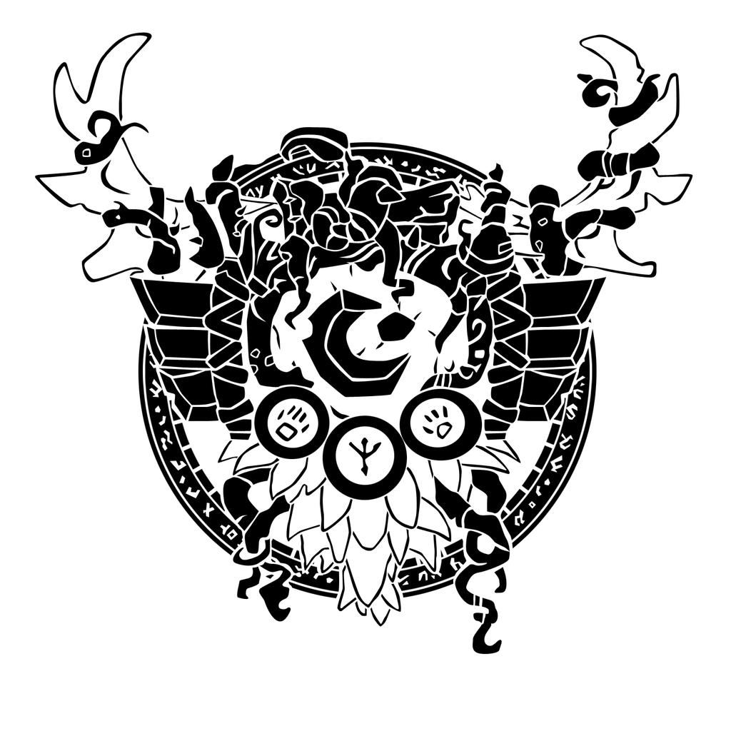 Druid Crest By Ropa Todeviantartcom Fantasy Art In 2019