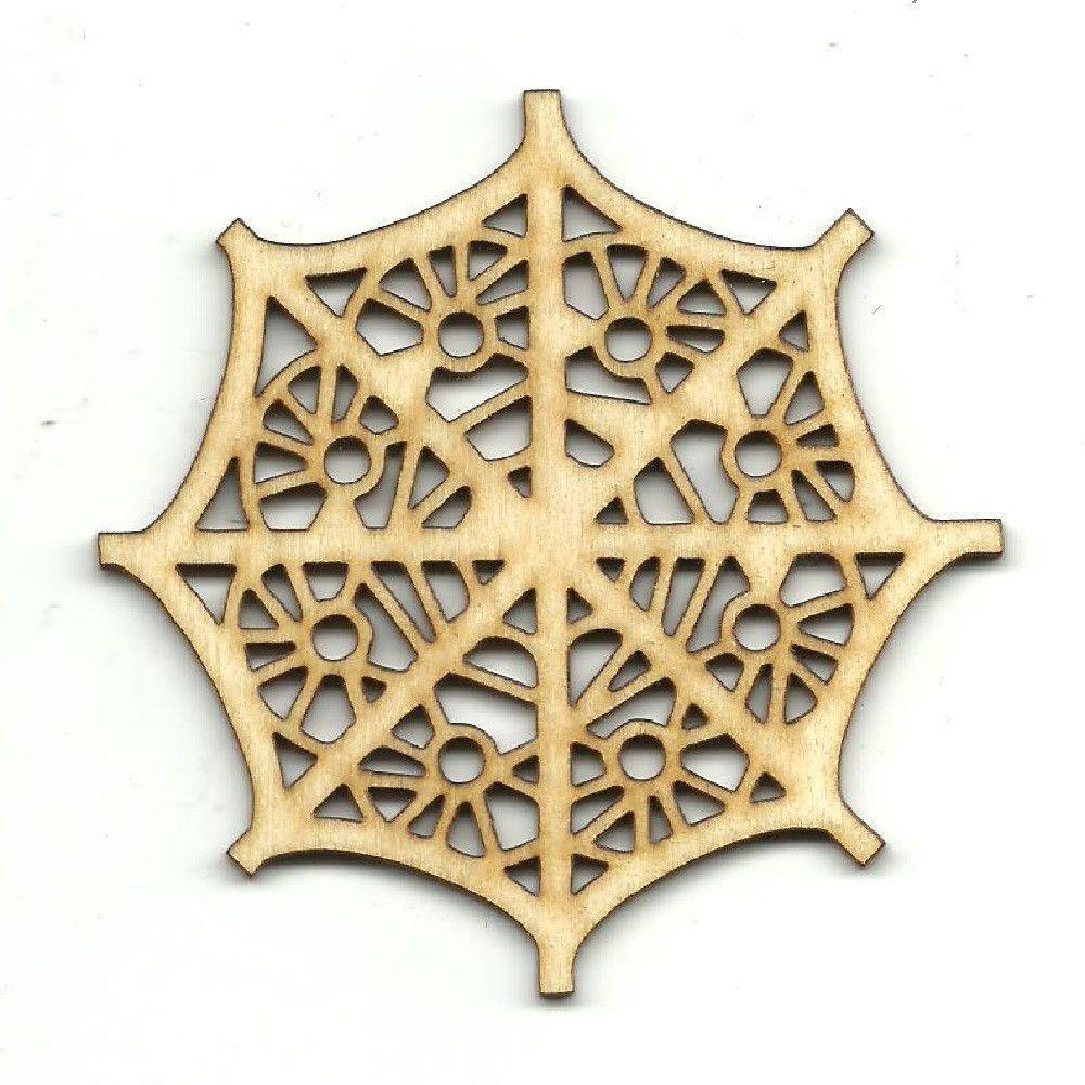 Decorative Coaster Wall Decor Unfinished Laser Cut Wood CSTR1 | CNC ...