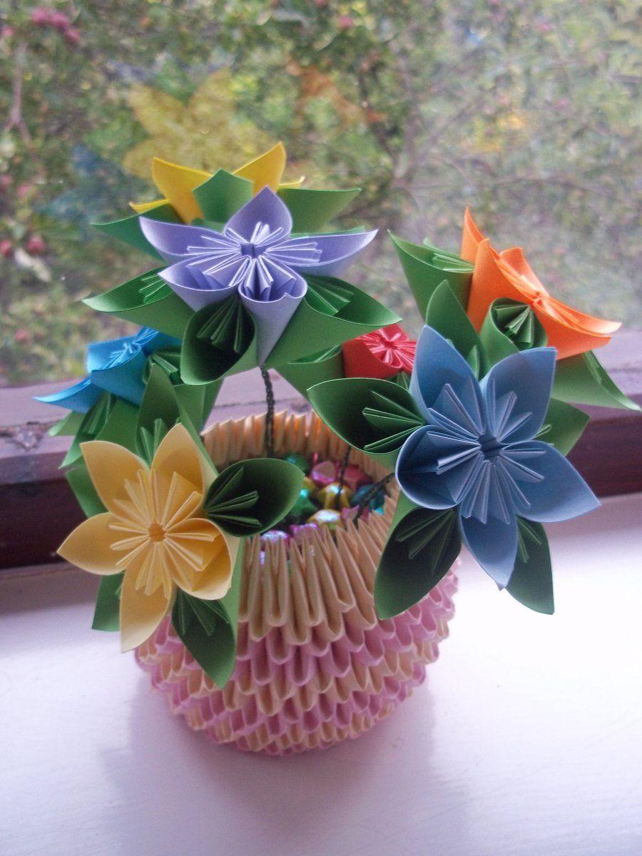 How To Make Origami Kusudama Flowers More Information Kopihijau