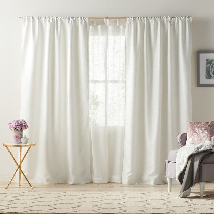 Lauren Conrad 1 Panel Twilight Room Darkening Lined Window Curtain