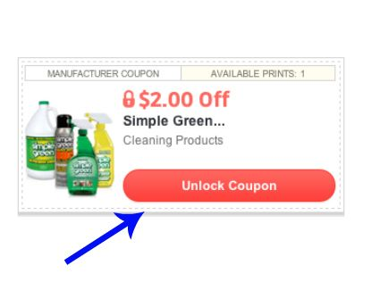 Access Thousands Of Coupons Simple Green Free Printable Coupons Printable Coupons
