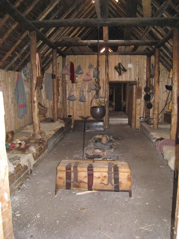 The Crow S Fjord Viking Style Longhouse Viking Viking
