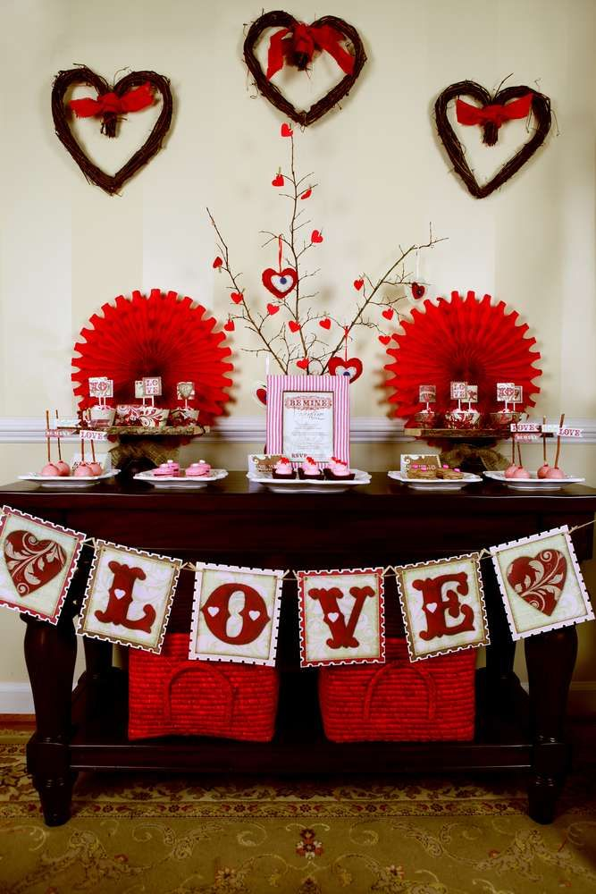 Valentine S Party For Kids Valentine S Day Party Ideas Photo 1 Of 31 Valentines Party Valentines For Kids Cookie Decorating Party