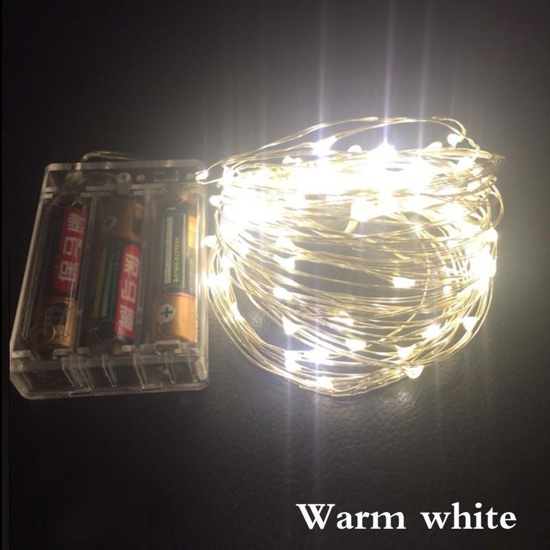 led battery operated led string lights rh pinterest com