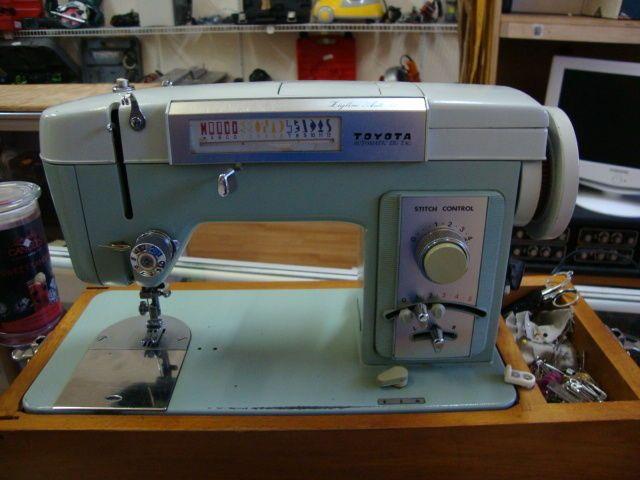 Toyota Sewing Machine Jig Line Auto40 Z40 Vintage Machines Amazing Machine Sewing With Fishing Line