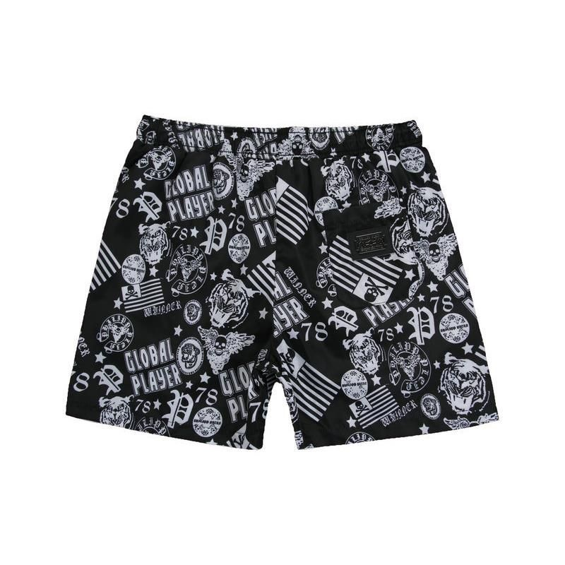 a682f4233dbb Philipp Plein PP Board Shorts Boardshorts Beach Swimwear Surf Pants ...