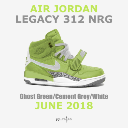 bb40d9ef1ceb Don C x Jordan Legacy 312 Ghost Green To Release In June • KicksOnFire.com
