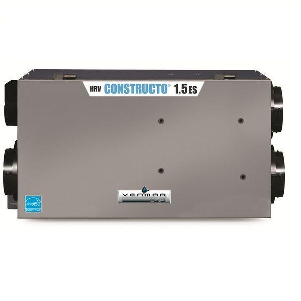 Échangeur d'air Venmar AVS, CONSTRUCTO 1.5 ES HRV PCM-66-150 http://comparer3prixthermopompes.ca/echangeurs-air/venmar/avs-constructo-1-5-es-hrv/