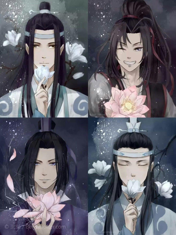 Lan Wangji x Wei Wuxian & Jiang Cheng x Lan Xichen | Mo Dao Zu Shi