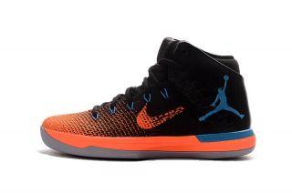 8319a929df32c2 Nike Air Jordan XXXI 31 Black Orange Blue Mens Basketball Shoes ...
