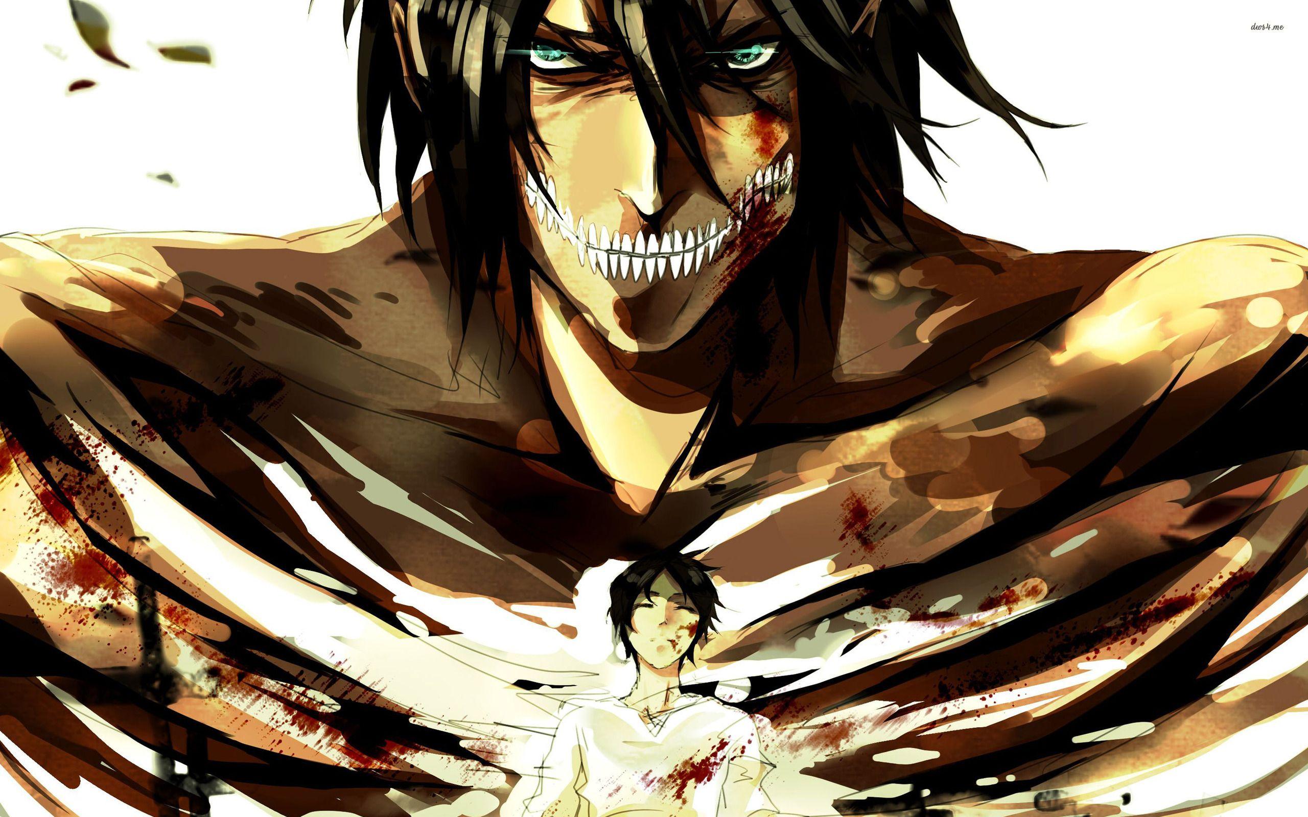 Anime Attack On Titan Eren Yeager Wallpaper Anime
