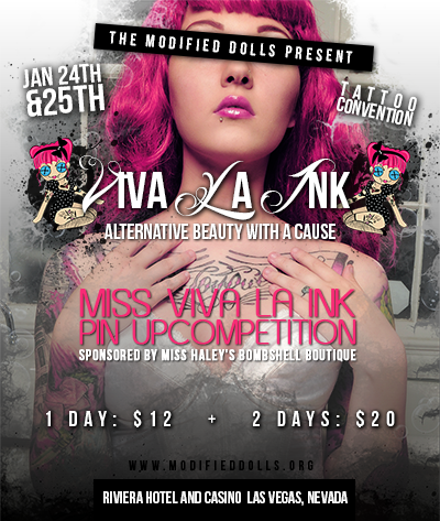 Viva Las Vegas Alternative Beauty with a Cause Tattoo Convention and ...