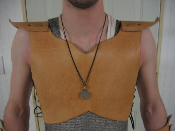 Leather breastplate. Simple piece I made years ago.