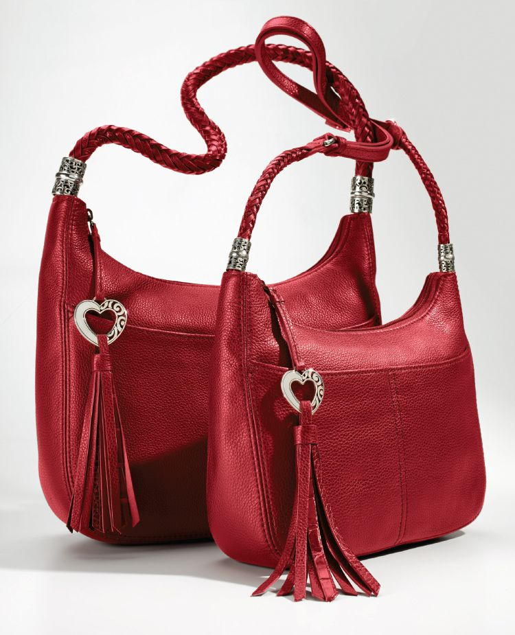 7496a3317383 Our top-telling Barbados bag comes in Zip Top and Baby Cross Body! The  lipstick red is that perfect festive pop of color for your holiday plans!