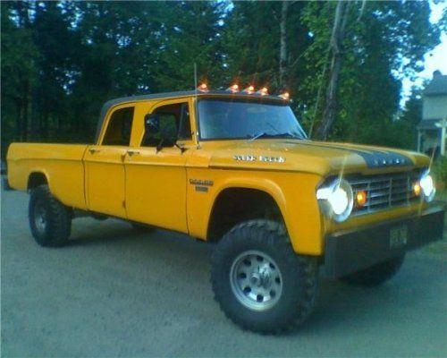 66 dodge camper special. on a 90 mins w250 frame   My Cars ...