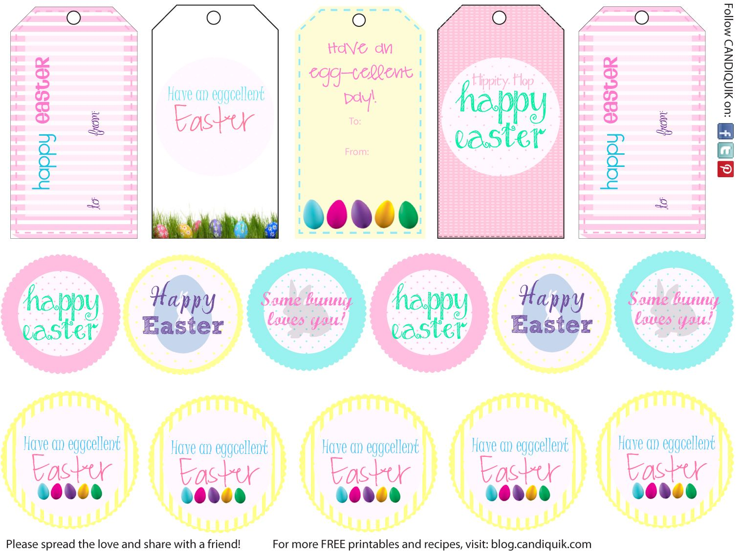 Free printables free printables free christmas printables and vintage easter tags free christmas printables from miss candiquik great for cake pops negle Image collections