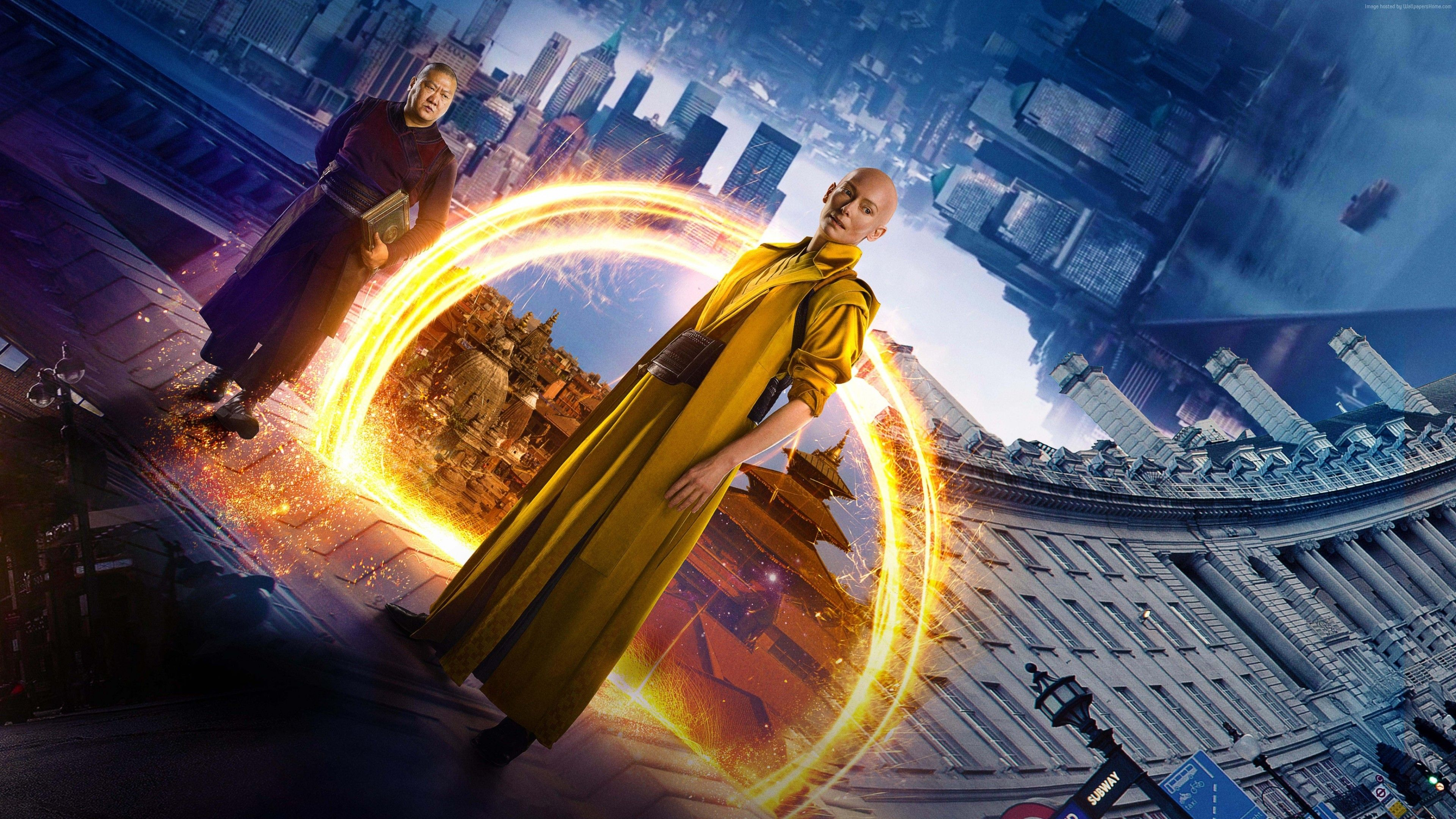 Doctor Strange Marvel Movie Wallpapers Widescreen Cinema: Tilda Swinton The Ancient One Doctor Strange HD Wallpaper