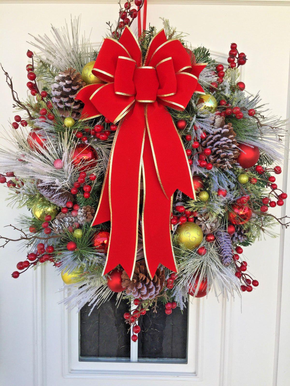Ebay Weihnachtsdeko.Turkranz Weihnachten Weihnachtskranz Xxl Weihnachtsdeko