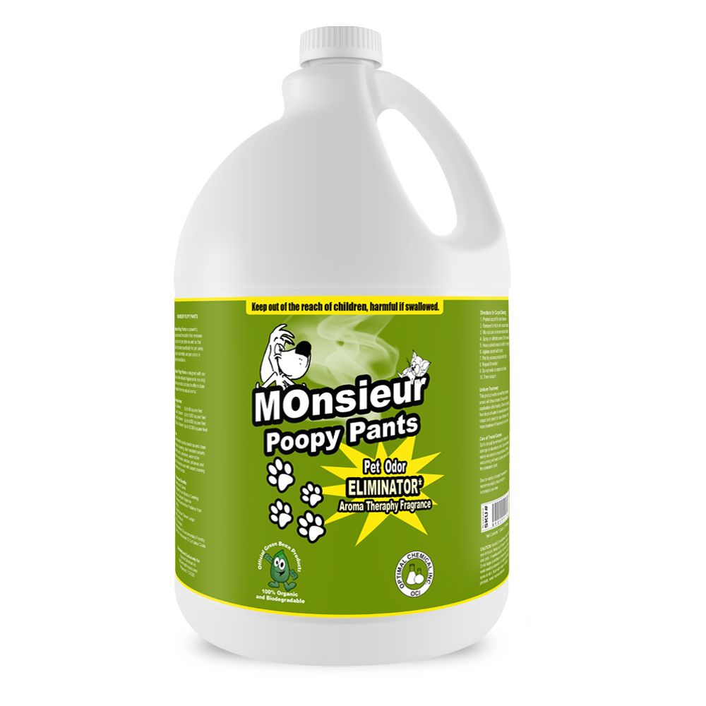 Monsieur Poopy Pants Extra Strength Pet Urine Eliminator