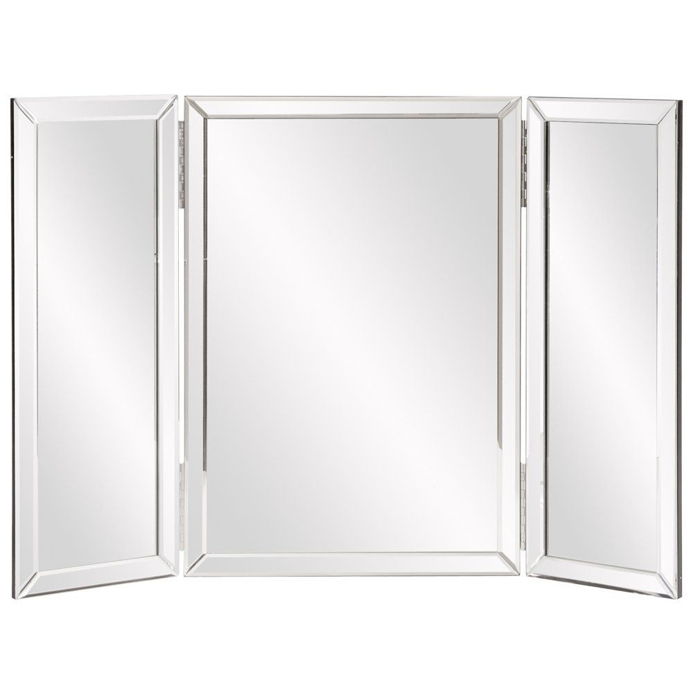 Amazon howard elliott tripoli trifold vanity mirror