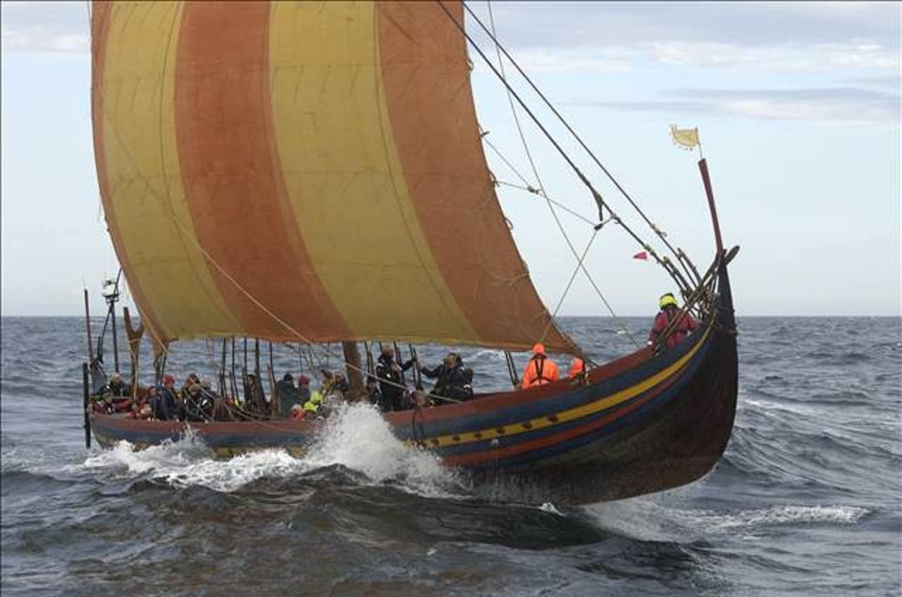 Sea Stallion Denmark Viking Ship Boat Sailing
