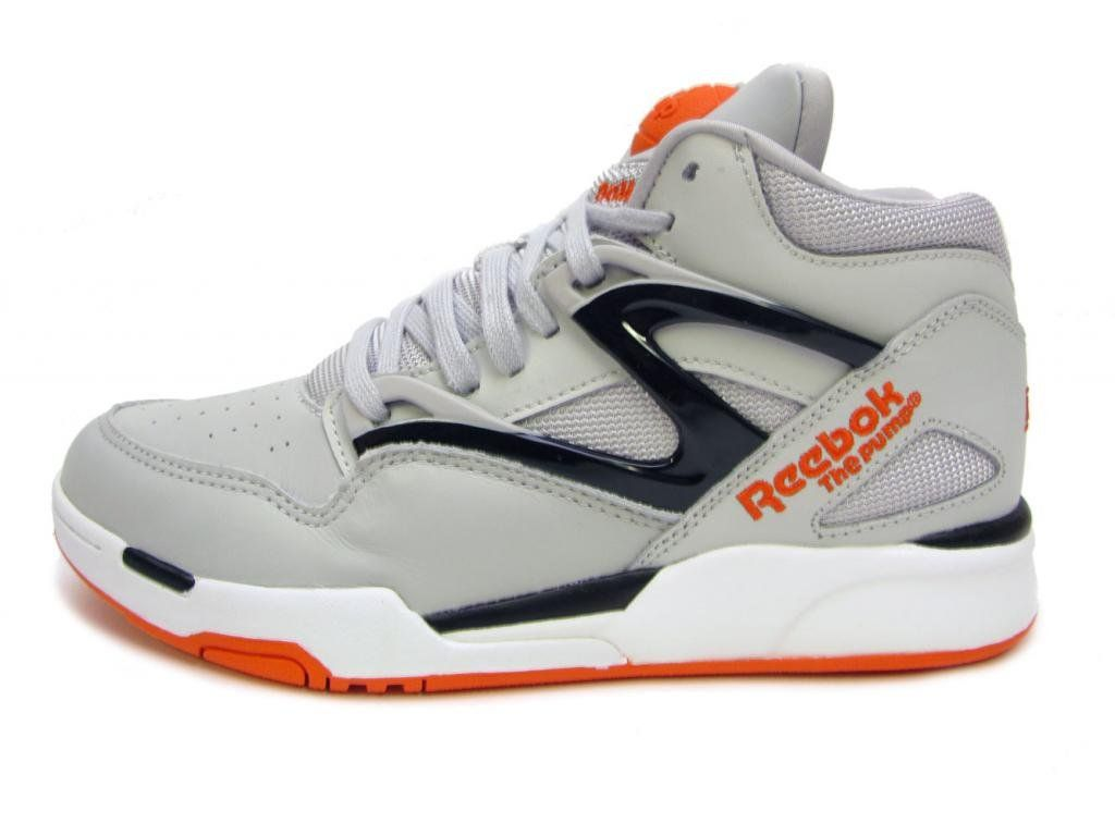 Pump Omni Lite Mens in SteelBlackSwag OrangeWhite by Reebok