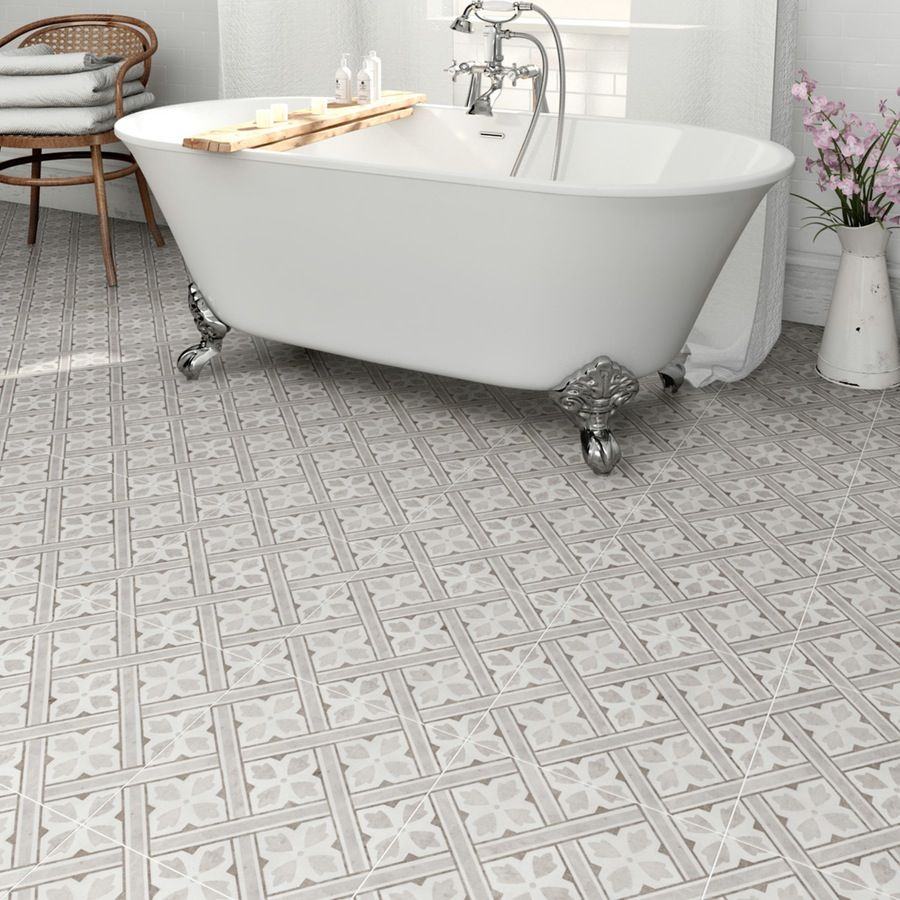 Laura ashley heritage mr jones grey charcoal matt tile 331mm x 331mm laura ashley mr jones charcoal tile 331x331 dailygadgetfo Choice Image