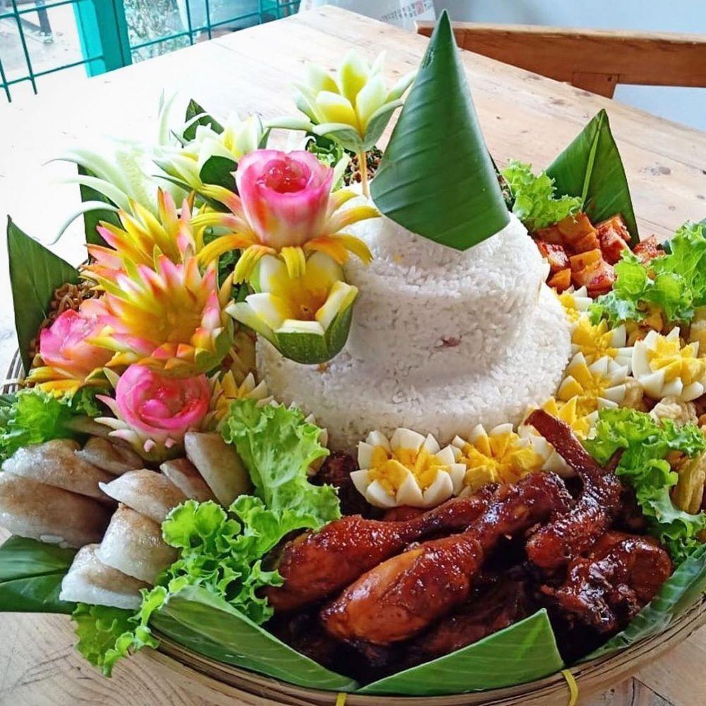 Resep Tumpeng Dan Lauk Berbagai Sumber Makanan Dan Minuman Makanan Enak Resep Masakan