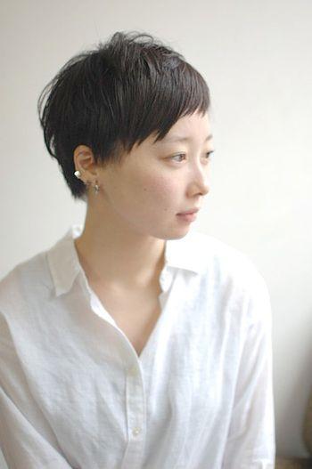 今年こそ挑戦してみて おしゃれ度が上がるベリーショートヘア キナリノ アジア人 ショートヘア 美髪 髪型 流行り