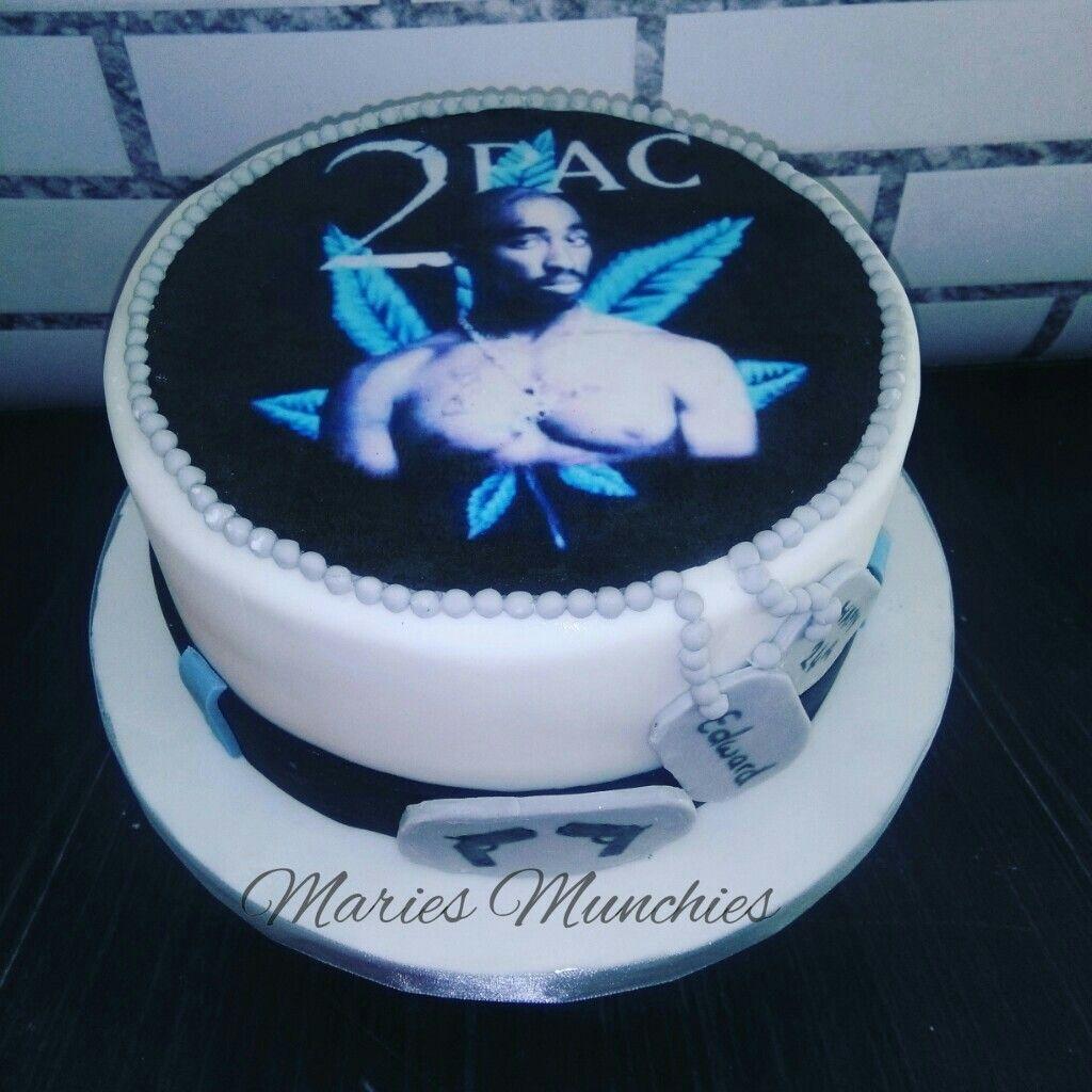 Tupac Cake 40th Bday Pinterest