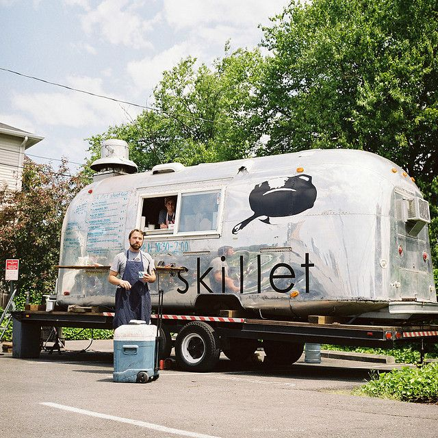 Occupying an iconic Air Stream camper, Skillet is an ...