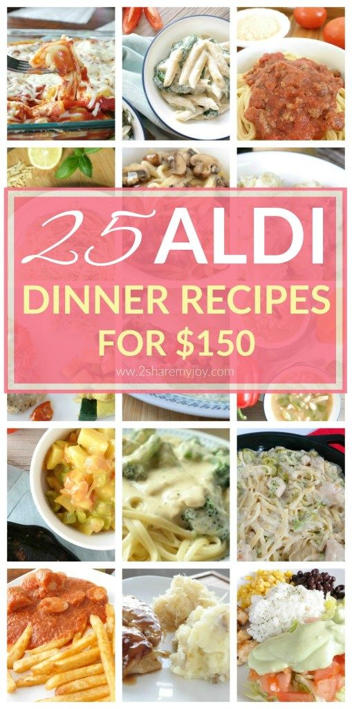 25 Aldi Dinner Recipes for $150 (Budget Friendly Meals) images